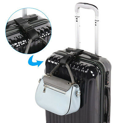 Hot New Multifunction Add Bag Luggage Strap Jacket Gripper Straps Baggage 15cm