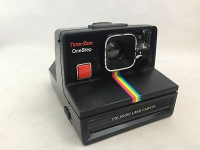 Polaroid Land Camera - Time Zero - One Step - Instant Camera - With Bag -