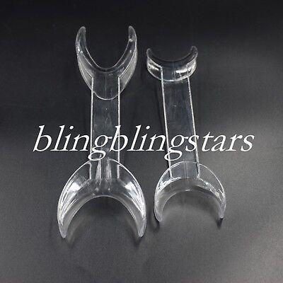 Dental Orthodontic Mouth Opener Tooth Whitening Cheek Double Retractor Lip L/S