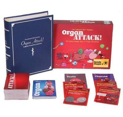 Organ ATTACK! New Adult Party Cards Funny Board Game for Family and Friends