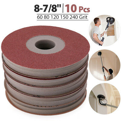 Drywall Sanding Pad For PORTER-CABLE 77155 60/80/120/150/220 Grit (10-Pack)