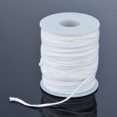 Spool of Cotton Square Braid Candle Wicks Wick Core Candle Making Supplies 61m