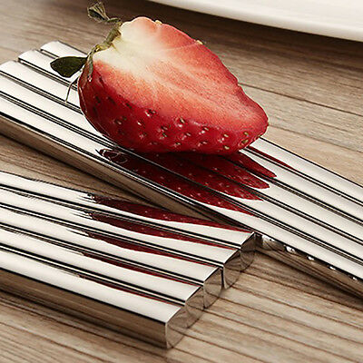 Mirror Polished Square Stainless Steel Chopsticks Tableware Household Dinnerware