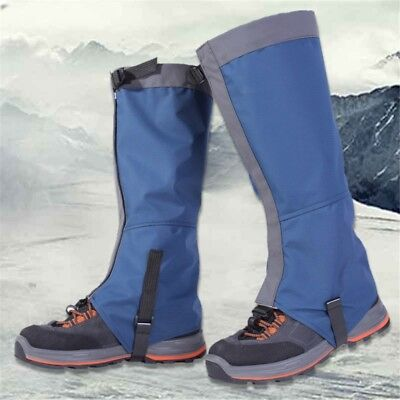 Outdoor Snow Kneepad Shoes Cover Skiing Climbing Leg Protect Waterproof Warmers