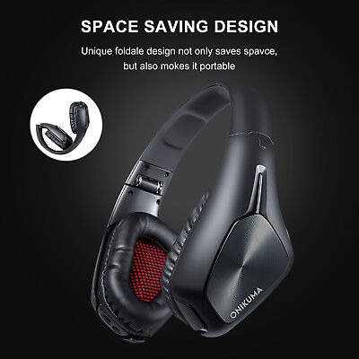 Dolby 7.1 Auriculares Inalámbricos Wireless Gaming Headset para PC Xbox One PS4