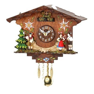 Kuckulino Black Forest Clock with cuckoo, incl. batterie