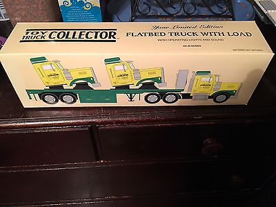 Toy Truck Collector 1999 Flatbed Truck With Load Limited Edition, New