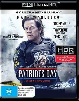 Patriots Day [4K Ultra HD + Blu-ray] Region B - NEW