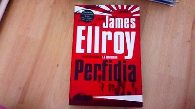 James Ellroy- Perfidia 1st Edition Hardcover Signed James Ellroy