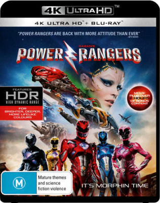 Power Rangers (2017) (4K UHD/Blu-ray)  - BLU-RAY - NEW Region B