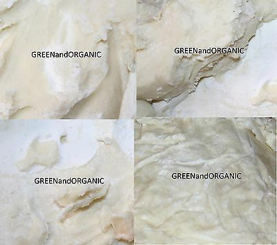 3 Lbs PURE Premium Organic RAW African IVORY SHEA BUTTER Unrefined Ghana 1.36 Kg