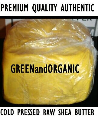 5Lbs Pure Raw African SHEA BUTTER Organic Unrefined Yellow 2.26 Kg Moisturizer