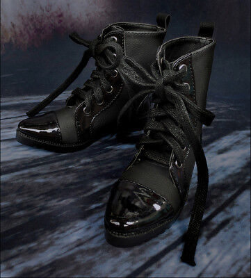 Mimi Collection MSD Doc 1//3 BJD Obitsu Doll Shoe Black Double Stitching BOOTs