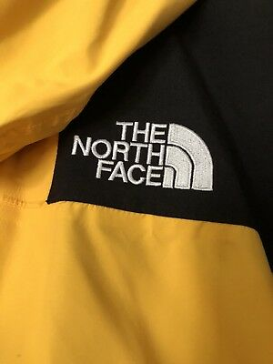 7067294b9 VTG 90S THE North Face Mountain Guide TNF Yellow GORE-TEX Sz Large Supreme