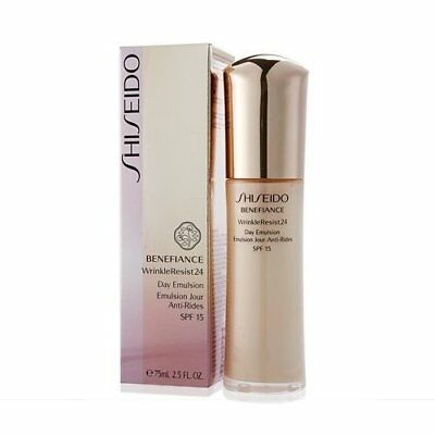 Shiseido Benefiance WrinkleResist24 Day Emulsion SPF15 75ml Anti-aging Lotion