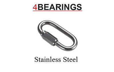 3.5Mm To 8Mm  Quick Links Stainless Steel Marine **Please Choose**