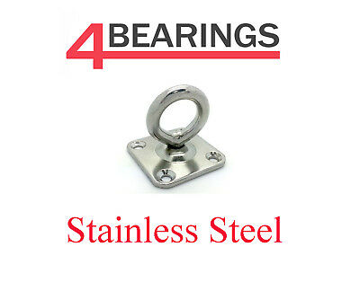 Stainless Steel Swivel Eye Plate 5Mm - 8Mm ** Please Choose