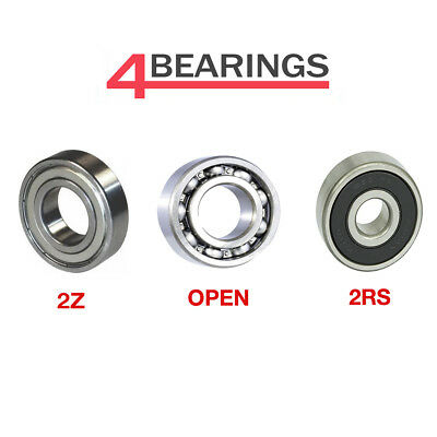 Bearing 6000 - 6312 Series - Open - 2RS - ZZ - C3 - CM - *Choose your size*