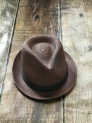 cb03fc5d BAILEY OF HOLLYWOOD Panama Hat Steele Mens Medium 7 New - $29.99 ...