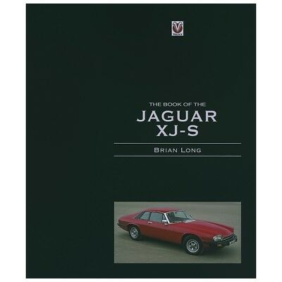The Book Of The JAGUAR  XJ-S, hardback book