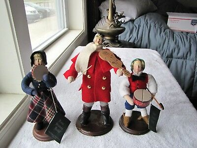 """The Original Dickens Dolls 3 Music Playing  """"Four Sisters Dolls"""""""