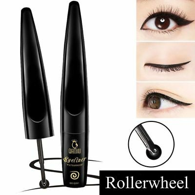 Lasting Waterproof Cosmetic Tool Eyeliner Pen Smudge-Proof Roller Wheel Liquid