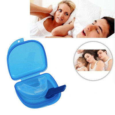 Anti-Snoring Solution Stop Snore Dental Mouthguard Mouthpiece Tray Free UK p&p