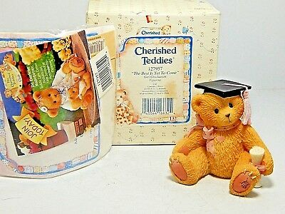 1995 Cherished Teddies *the Best Is Yet To Come* Nib *see Photos* Free Shipping*