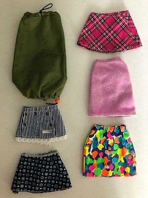 Barbie Doll Clothes Lot Skirts E