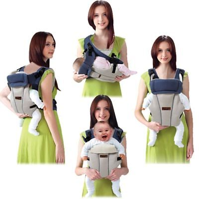 Baby Carrier Sling Breathable Ergonomic Front For Infant Backpack Pouch Hip  Seat 5791759bb29