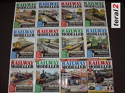 2011 12x Copies of Railway Modeller Complete January to December 2011 only £12
