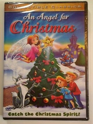 An Angel For Christmas DVD animated childrens family holiday new sealed 2003