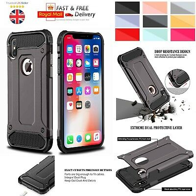 iPhone XR Case - Heavy Duty Shockproof Rugged Bumper Tough Hybrid Armor Cover
