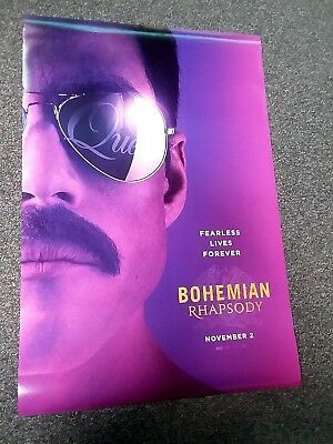 Bohemian Rhapsody 2018 Original D/S Movie Poster 27x40 Final - Authentic Queen