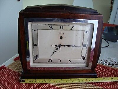 Rare vintage Smiths electric clock in good working condition.