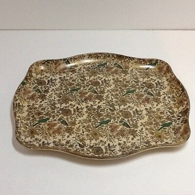1950's vintage Alfred E Knobler cocktail serving Tray paper mache