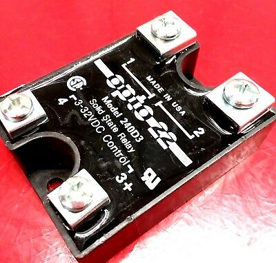 OPTO 22 Model 240D3  Power Series Solid State Relay 3-32VDC