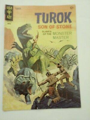 Turok Son Of Stone Comic Book #56 / Gold Key / March 1967 / COLOR / VG