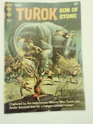 Turok Son Of Stone Comic Book #51 / Gold Key / May 1966 / COLOR / GD
