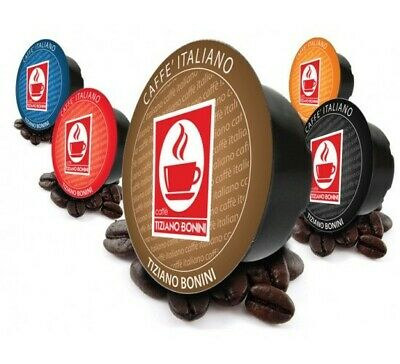 100 Lavazza a Modo Mio Compatible Coffee Pods - Caffe Bonini: 0.59c Each