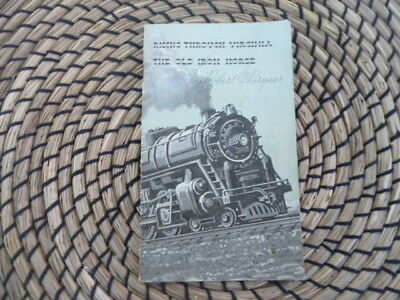 Vintage Railway memorabila  Riding thro Virginia on  the old Iron Horse