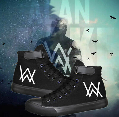 Alan Walker - Faded concert neutral Leisure canvas shoes high quality shoes