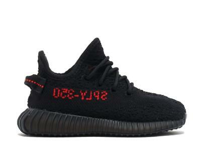 0537aee0328 Adidas Yeezy Boost 350 V2 Bred Black Red Infant Baby BB6372 US 5K-10K Kanye