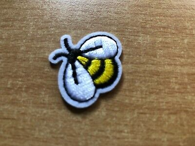 1 Cute Bee Buzz Embroidery Clothing Iron-On Patch Applique