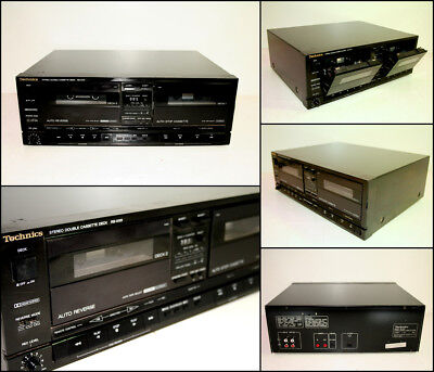 TECHNICS RS-X101 Stereo Double Cassette Deck (Made in Japan)