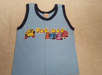 Vintage Pac Man Youth Size Small 6-8 Kids 1982