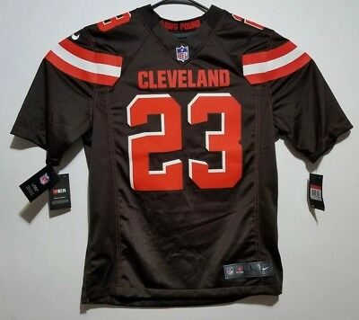 Nike Stitched Cleveland Browns Joe Haden  23 Nfl Jersey Women s Size Large L ce55ca4a7