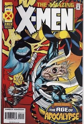 Amazing X-Men After Xavier: The Age of Apocalypse (April 1995, Marvel)