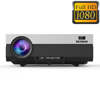 2019 New 1920*1080 LCD Home Theater Projector Portable Full HD 1080P HDMI LED