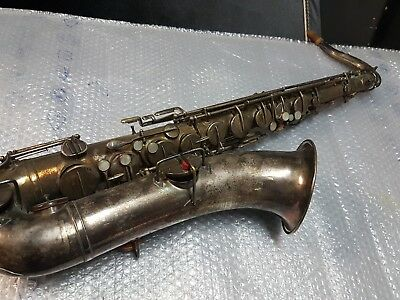 1920 THE BUESCHER TRUE TONE TENOR SAX / SAXOPHONE - made in USA